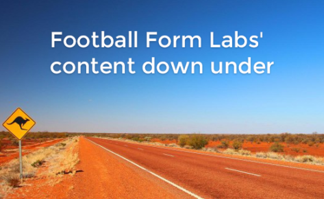 Football Form Labs' content down under